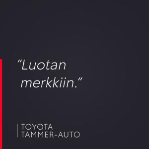 Kysyimme: Miksi päädyit Toyotaan? Asiakkaamme vastasi: