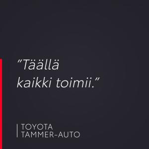 Kysyimme: Miksi tulit Tammer-Auton huoltoon? Asiakkaamme vastasi: