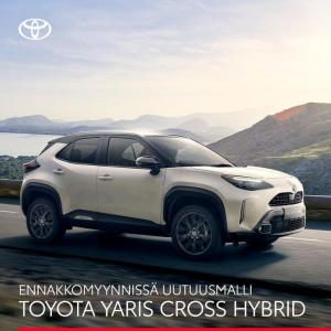 Uutuusmalli Toyota Yaris Cross Hybrid - ketterä ja kompakti crossover on nyt ennakkomyynnissä. Tutustu ja ennakkovaraa 🤩  #tamme...