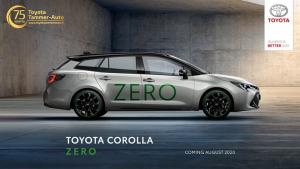Toyota on tänään julkistanut lanseeraavansa täysin päästöttömän 0-Corolla Zeron. Suomalaisten pitkäaikainen suosikkimalli perustuu täysin uudenlaiseen teknologiaan, jolla päästöt saadaan vastaamaan sadalla kilometrillä yhden aikuisen ihmisen hengityksestä vuorokaudessa vapautuvaa hiilidioksidimäärää.  Niin sanottu