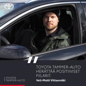 """""""Toyota Tammer-Auto herättää positiiviset fiilarit.""""  Kun uusi Toyota Corolla Hybridi kiehtoi, päädyin tietenkin Toyota Tammer-A..."""