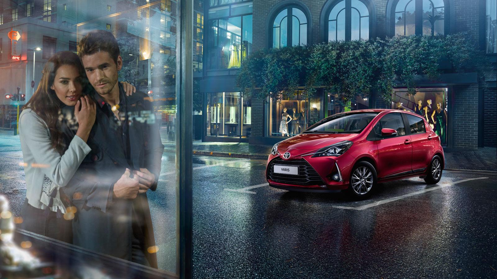 Toyota Yaris Huolto-Ohjelma